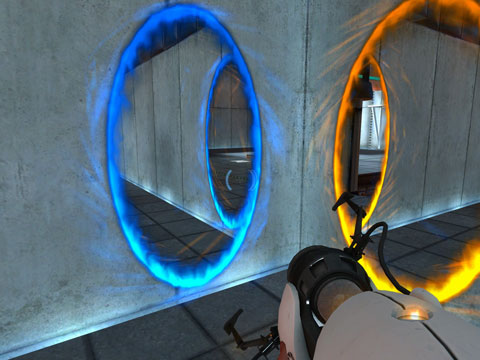 Two Portals open