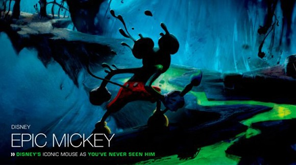 running out of epic mickey pictures