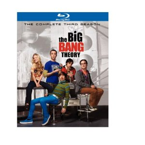 The Big Bang Theory: The Complete Third Season on Blu-ray