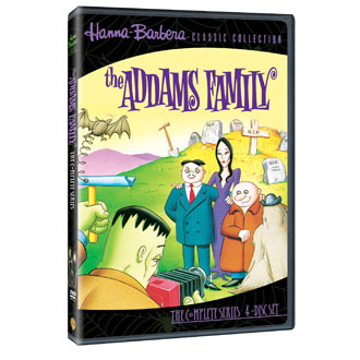 The Addams Family: The Complete Animated Series on DVD!