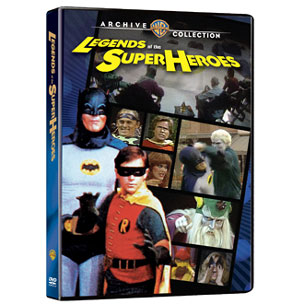 Legends of the Superheroes on DVD!