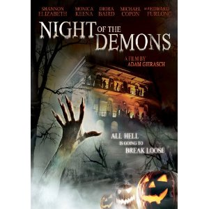 Night of the Demons on DVD!