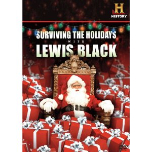 Surviving the Holidays with Lewis Black on DVD!