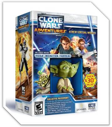 Star Wars Clone Wars Adventures Galactica Passport