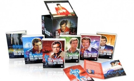 The Six Million Dollar Man: The Complete Collection on DVD!