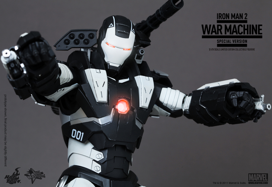 Hot Toys IM2 War Machine SV 4