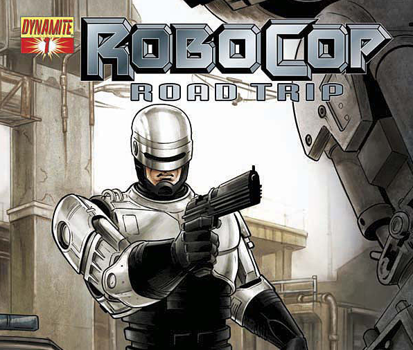 Robocop- Road Trip #1 Large