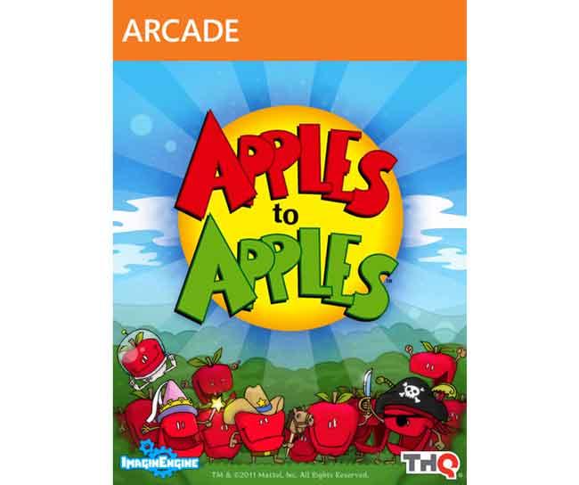 Apples to Apples Xbox 360