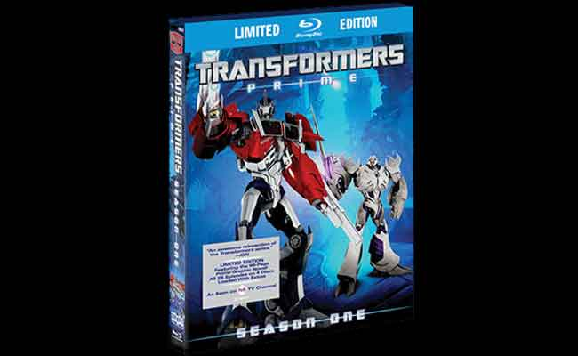 Transformers Prime First Season Limited Edition