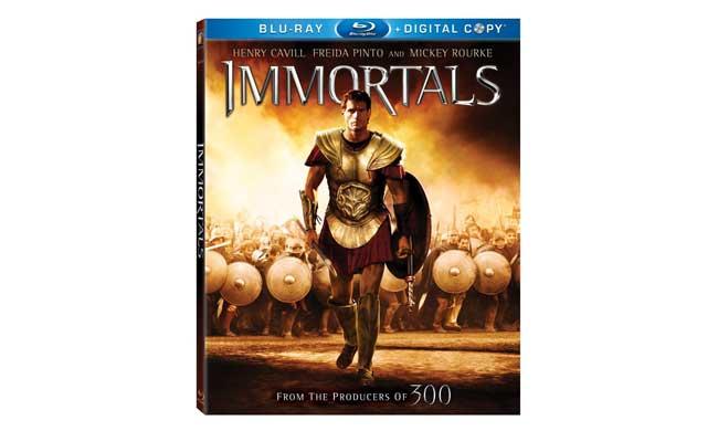 Immortals Bluray