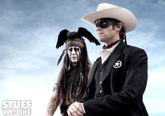 The Lone Ranger First Image