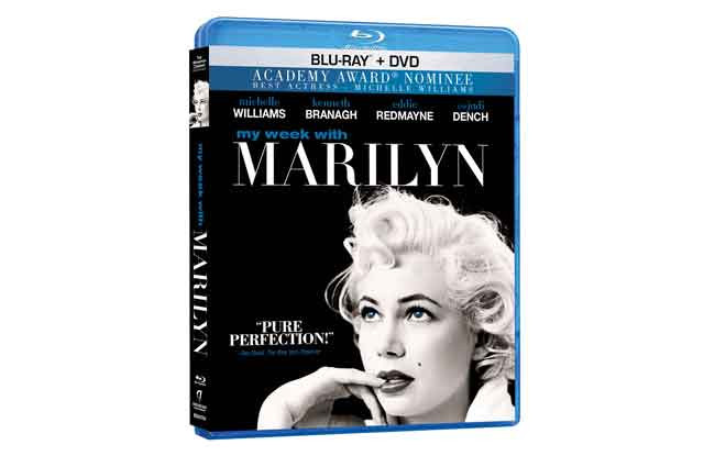 My Week With Marilyn Bluray