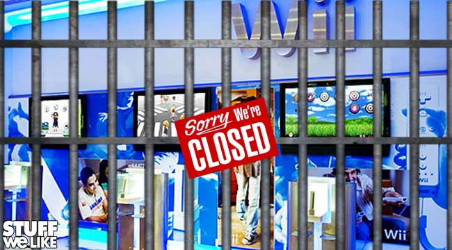Nintendo Store Closed