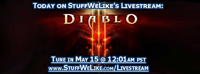 Diablo 3 LIVE