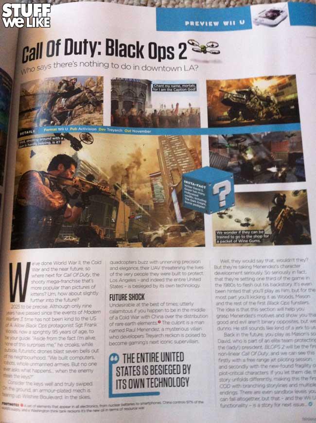 Black Ops 2 Wii U