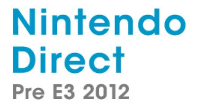 Nintendo Direct E3 2012