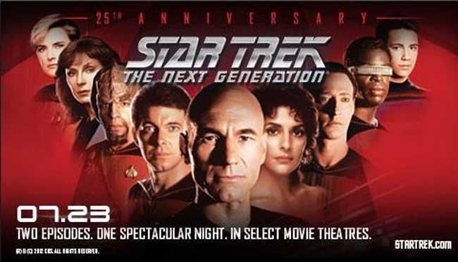 Star Trek: The Next Generation 25th Anniversary Event