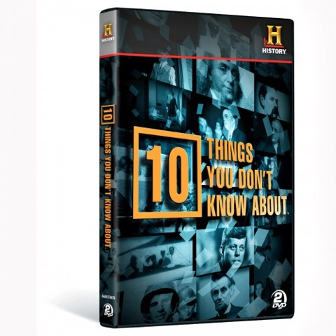 10 Things You Don't Know About... on DVD