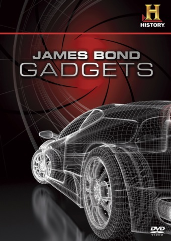 James Bond Gadgets DVD