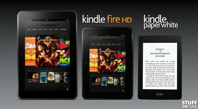 Amazon Kindle Press Conference
