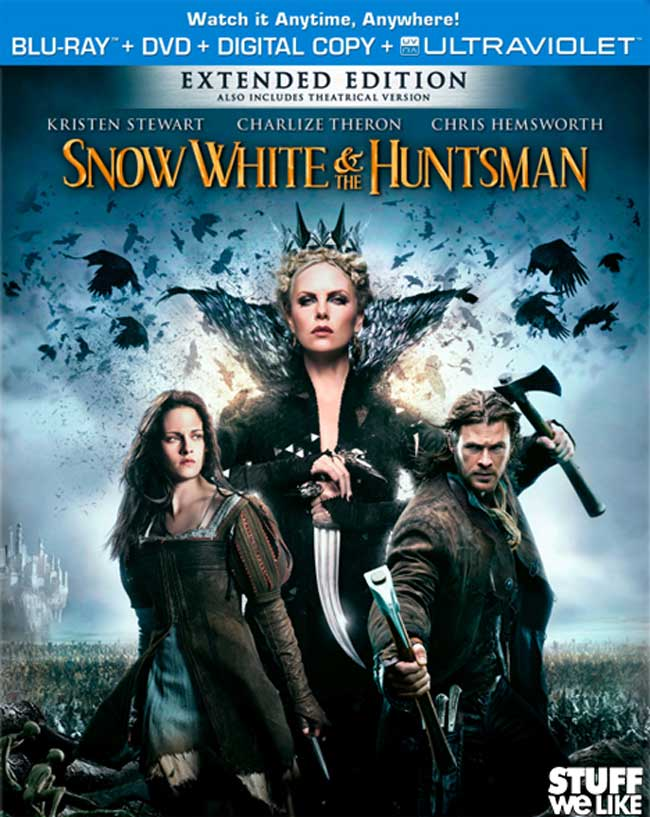 Snow White & The Huntsman Bluray