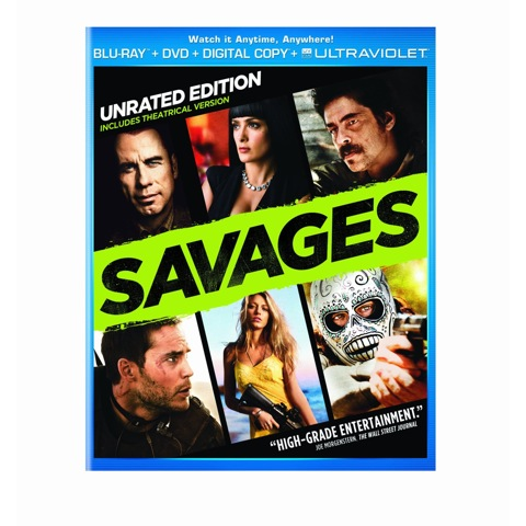 Savages on Blu-ray
