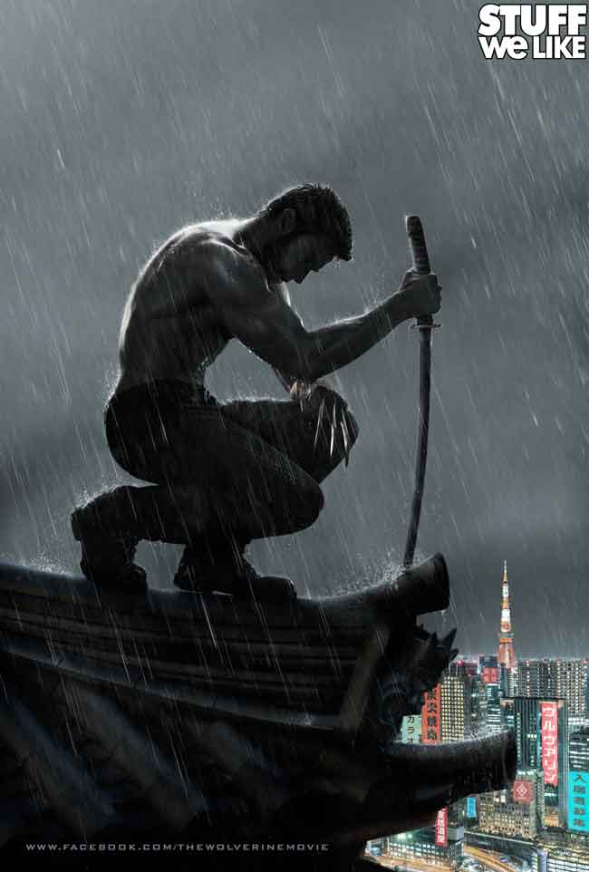 The Wolverine Motion Poster