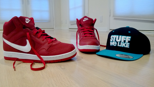 Nike Air Prestige III High SI  red