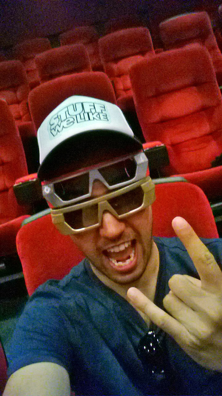 David Rodriguez Iron Man 3D