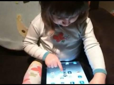 2 Year Old Encounters iPad