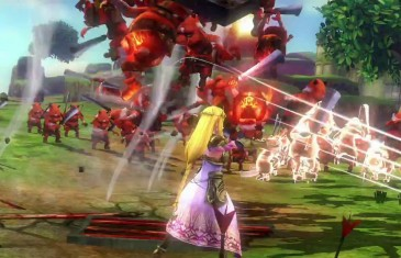 Hyrule Warriors Trailer with Zelda and Baton