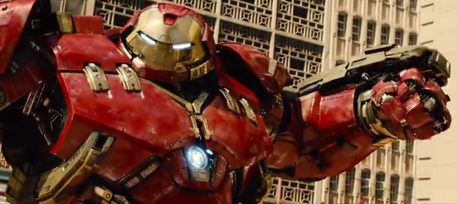 Avengers Age of Ultron Hulk & Iron Man Concept Art